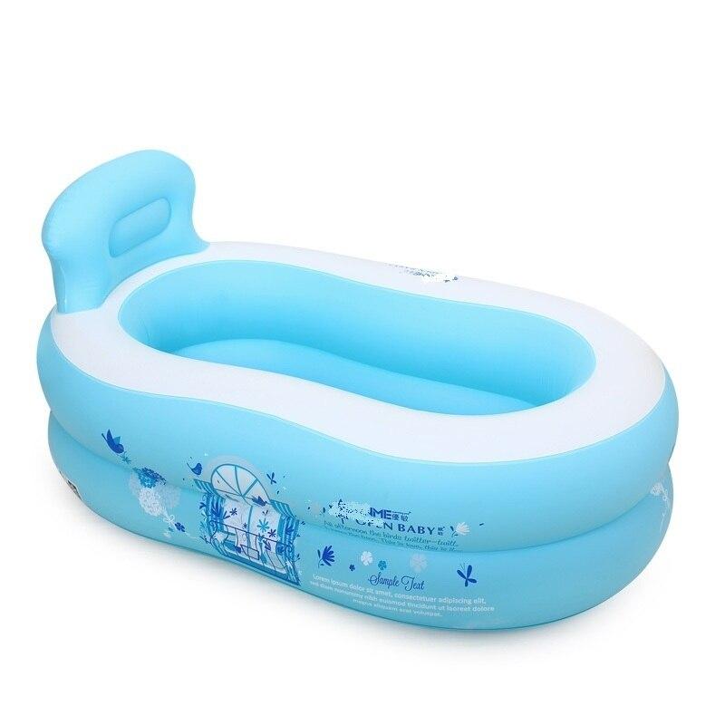 Bébé Piscina Adulto Portable bain adulte bain à remous Banheira Inflavel baignoire gonflable