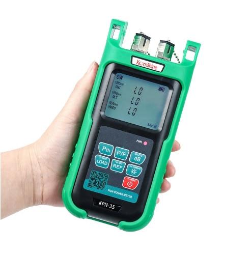 KOMSHINE KPN 35 Mini PON Optical Power Meter PON Fiber for EPON GPON APON ONT for 1310 OLT for 1490/1550nm Wavelength
