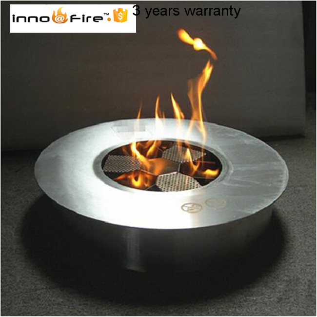 Us 880 0 8 Liter Round Manual Bio Ethanol Fire Bowl In Fireplaces From Home Improvement On Aliexpress