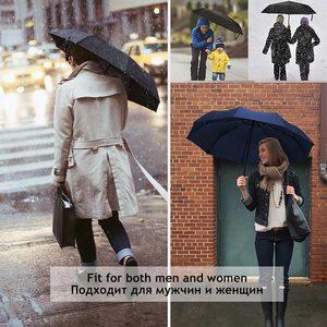 Image 5 - רוח עמיד מלא אוטומטית מטריית גשם נשים לגברים 3 מתקפל מתנה שמשייה קומפקטי גדול נסיעות עסקים רכב 10K מטרייה