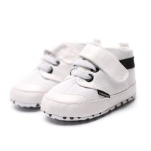 Spring Baby Boys Buckle Strap First Walkers Autumn Indoor Lace-Up Shoe