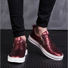 New leather shoes men zapatos hombre cuero genuino schuhe herren chaussures hommes en cuir men loafers