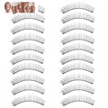 GRACEFUL 10 pairs Makeup Extension Handmade  Soft Long Cross Lashes False Eyelashes  AUG22