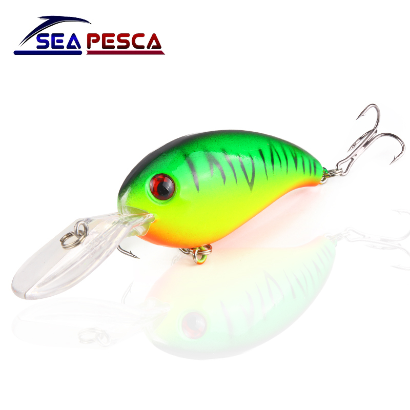 SEAPESCA Crankbait Fishing Lure 10cm 14g Wobblers iscas artificiais Hard Bait Fishing Tackle Dive 1.5m for pike and bass JK195 wldslure 1pc 54g minnow sea fishing crankbait bass hard bait tuna lures wobbler trolling lure treble hook