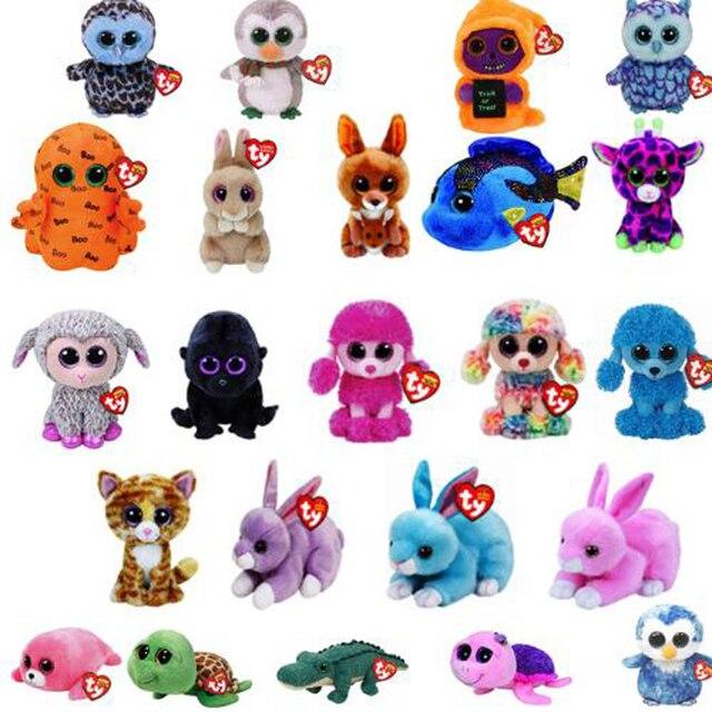 Ty Vaias Gorro Coruja Bonito Unicórnio Boneca de Brinquedo de Pelúcia do Macaco Stuffed & Plush Animais