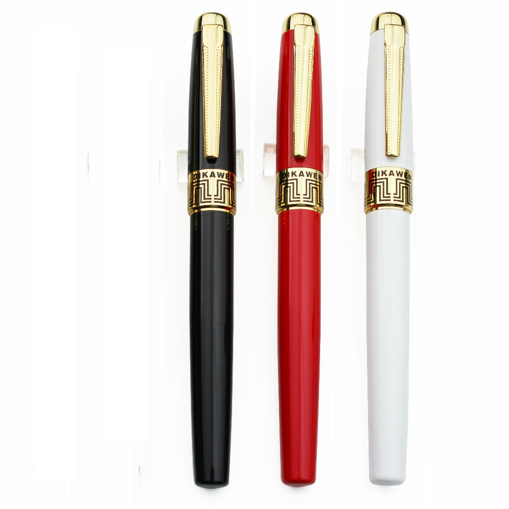Fountain pen Gel ink RollerBall pen DIKAWEN883 Standard signature pen office&school stationery wholesale 15pcs/lot Free Shipping 8pcs lot wholesale fountain pen black m 14 k solid gold nib or rollerball pen picasso 89 big executive stationery free shipping