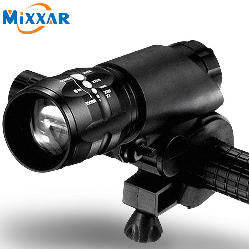 New Bicycle Light Bike 2300LM 3 Modes Bike Light CREE Q5 LED Flashlight lights Lamp Front Torch Waterproof Lamp + Torch Holder
