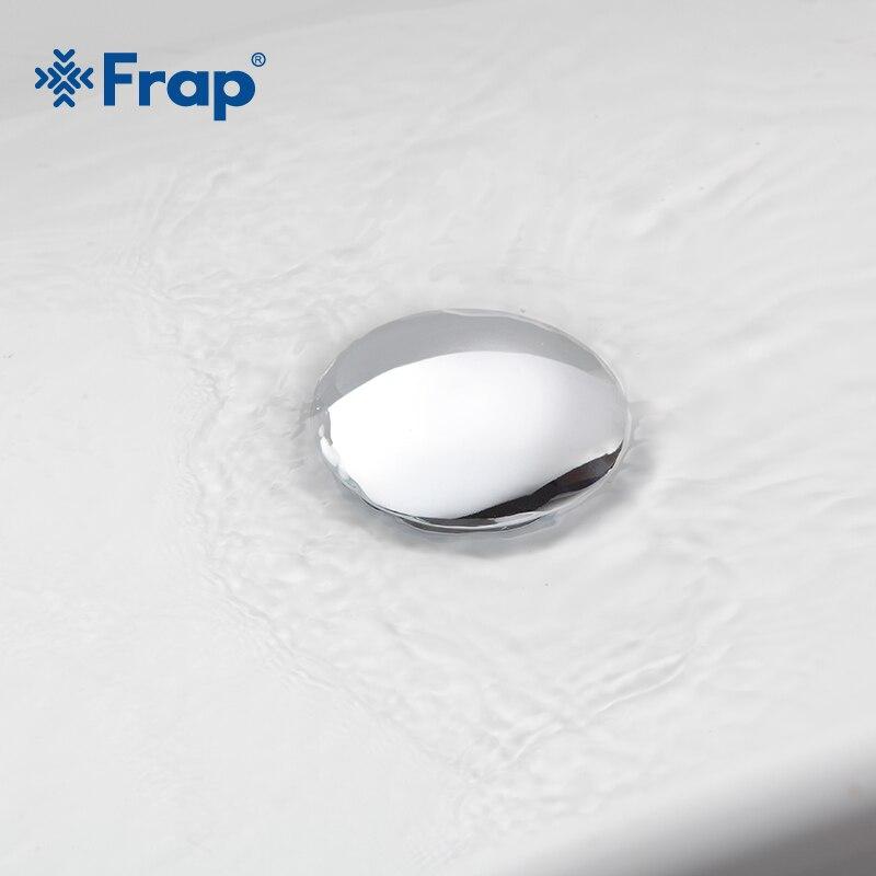 Frap Modern style Bathroom Basin Pop Up Vanity Vessel Sink Drain With Overflow Hole Bathroom Hardware F65/65-2