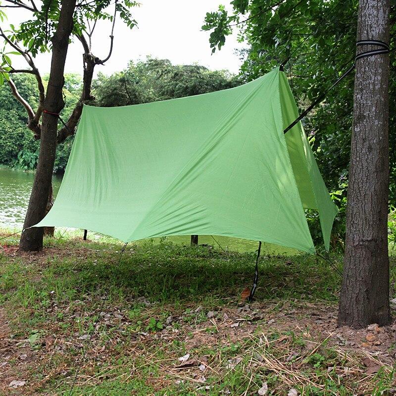 rede toldo esteira de acampamento abrigo proteção pára-sol