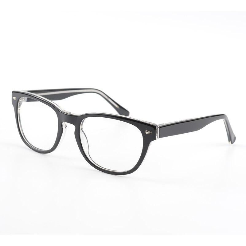 Mode Acetat Herren Brillengestell 100% Handgemachten Männer Brillen ...