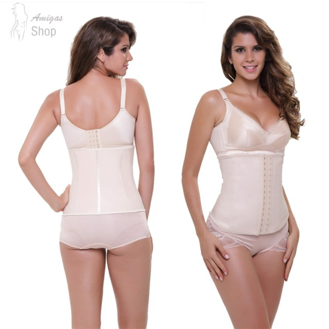 Rubber Waist Trainer Corset  Women Underbust Body Shaper Latex Trained Cincher 2016 New 4 colors Wholesale Price Free Sipping