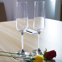 2017 Schedel Tazas Bier Whiskey Ronde Nieuwe Ontwerp Champagne Fluiten Fabriek Groothandelsprijs Hoogwaardige Crystal 270 ml Drinken Wijn