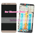 Black/White/Gold Replacement LCD+TP+Frame Assembly for Huawei Ascend Mate7 Mate 7 LCD Display+Touch Screen with Frame