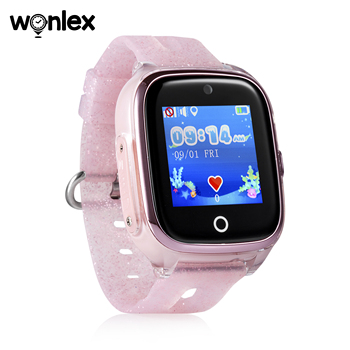 Wonlex Kids Smart Wifi Watch Waterproof IP67 Swimming Sporting Watch SOS Help GPS Positioning Wearable Anti-lost SeTracker KT01 5