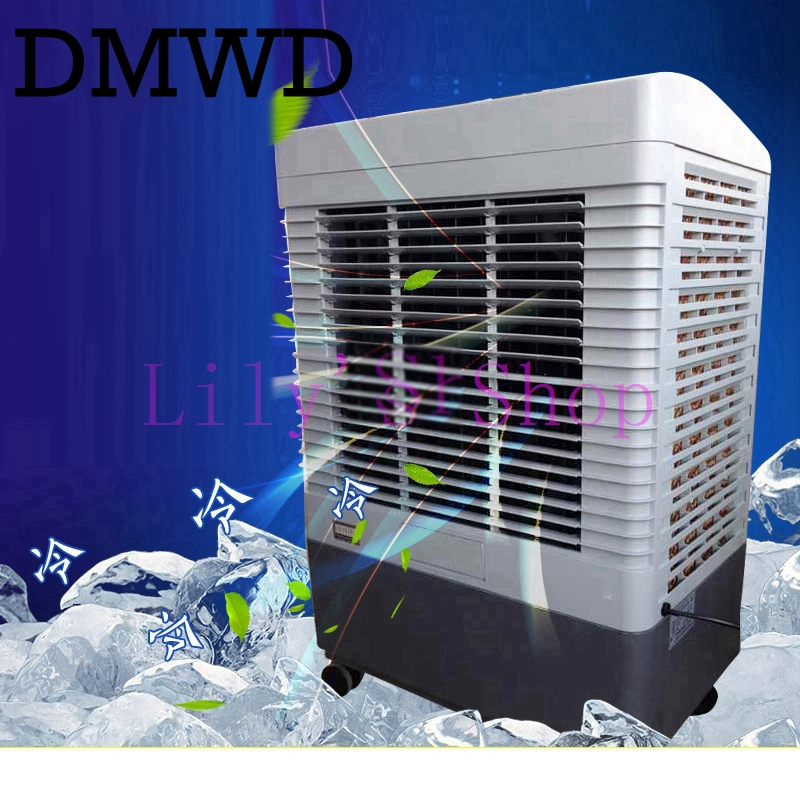 DMWD Single-cooled air conditioning cooler portable environmental conditioning silent cooling fan industrial water chiller home for asus u46e heatsink cooling fan cooler
