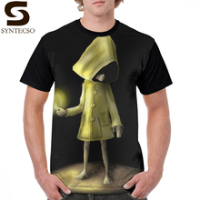 Little Nightmares T Shirt Nightmare T-Shirt Fun Plus size Graphic Tee Beach Male Printed Polyester Tshirt
