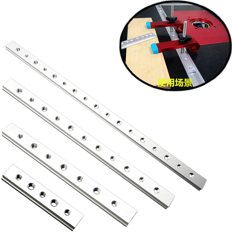 100/200/300/450 M6+M8 T Slot Nut T-Track Sliding Nut Aluminium Alloy T-Slot Woodworking Pressboard Clamp Fastener Pressure Block