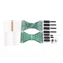 LED Electronic Hourglass DIY Kit