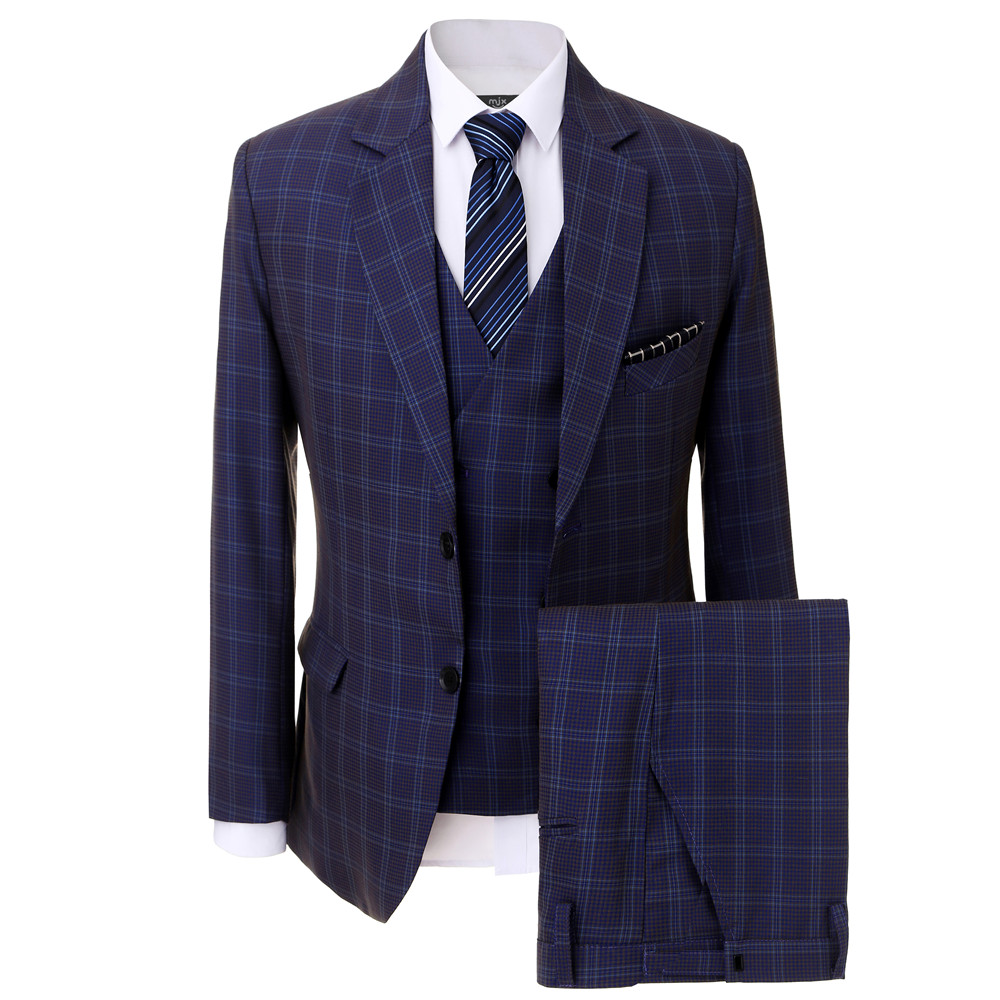 New Arrival Tailored made Men Business Suit Slim fit Classic Male Suits Suit Men for Wedding 3 Pieces Tuxedo(Jacket+pants+vest)
