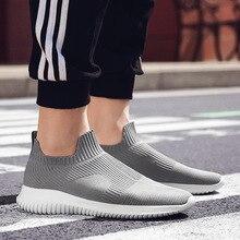SDBFUJKI Fashion Men Flying Weaving Shoe Student Shoes Dreathable Sets Of Foot Socks Comfortable