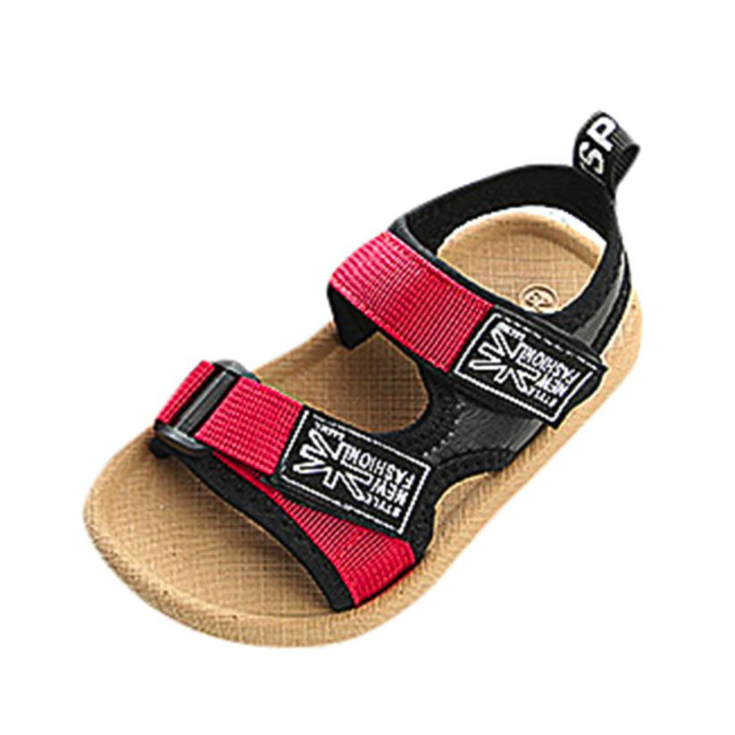 BMF TELOTUNY Leather Sandals Baby Boys Beach Sandals Sneaker Toddler Children Patchwork Casual Single Shoes Mar3 Drop Ship