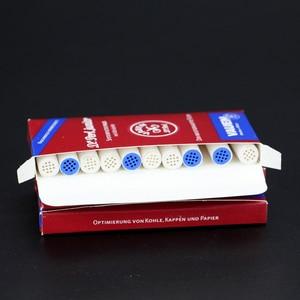 Image 2 - Filtros de fumo 9mm 50 peças, tubulação de fumo filtros de carbono ativado melhores acessórios descartáveis filtro de tabaco fumaça