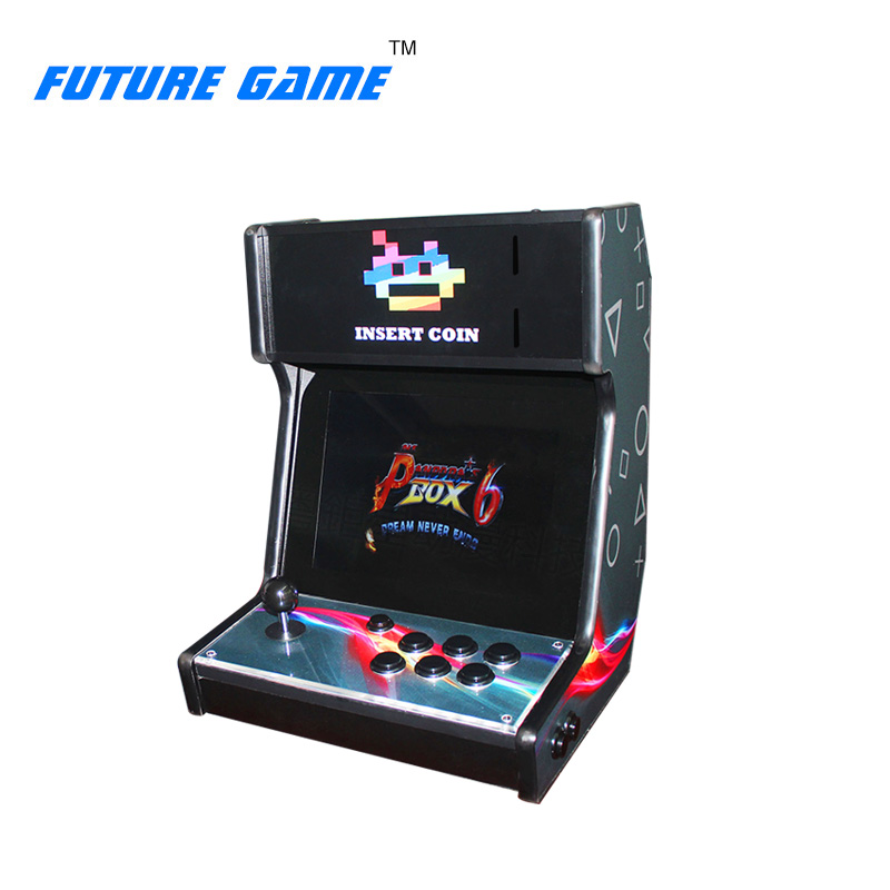 Pandora Box6 Mini Table Top Arcade With Classical Games1300 In 1 PCB/Mini Arcade Game Machine Play a Coin Game new arrival mini coin operated arcade machine with classical game horizontal 815 in 1 game pcb