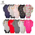 3Pcs Baby Rompers Summer Baby Girl Clothes Roupas Bebe Summer Newborn Baby Clothes Cotton Baby Boy Clothing Infant Jumpsuits