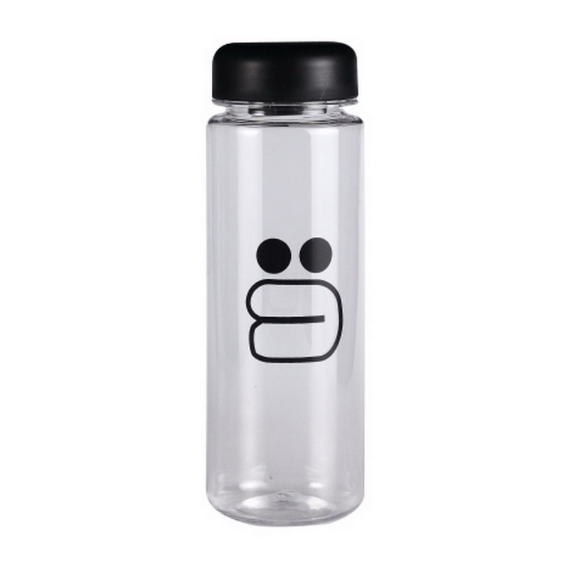 500 ml With Gift Bag Plastic Water Bottle Sport Lemon Juice Circle Clear Bottle