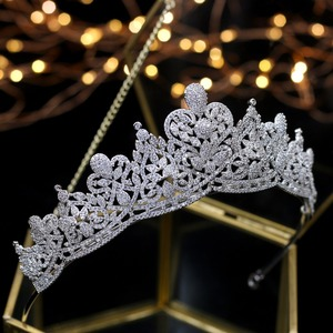 Image 2 - Asnora coroa de noiva 크리스탈 웨딩 tiaras 신부 크라운 신부 헤어 액세서리 tiara nupcial