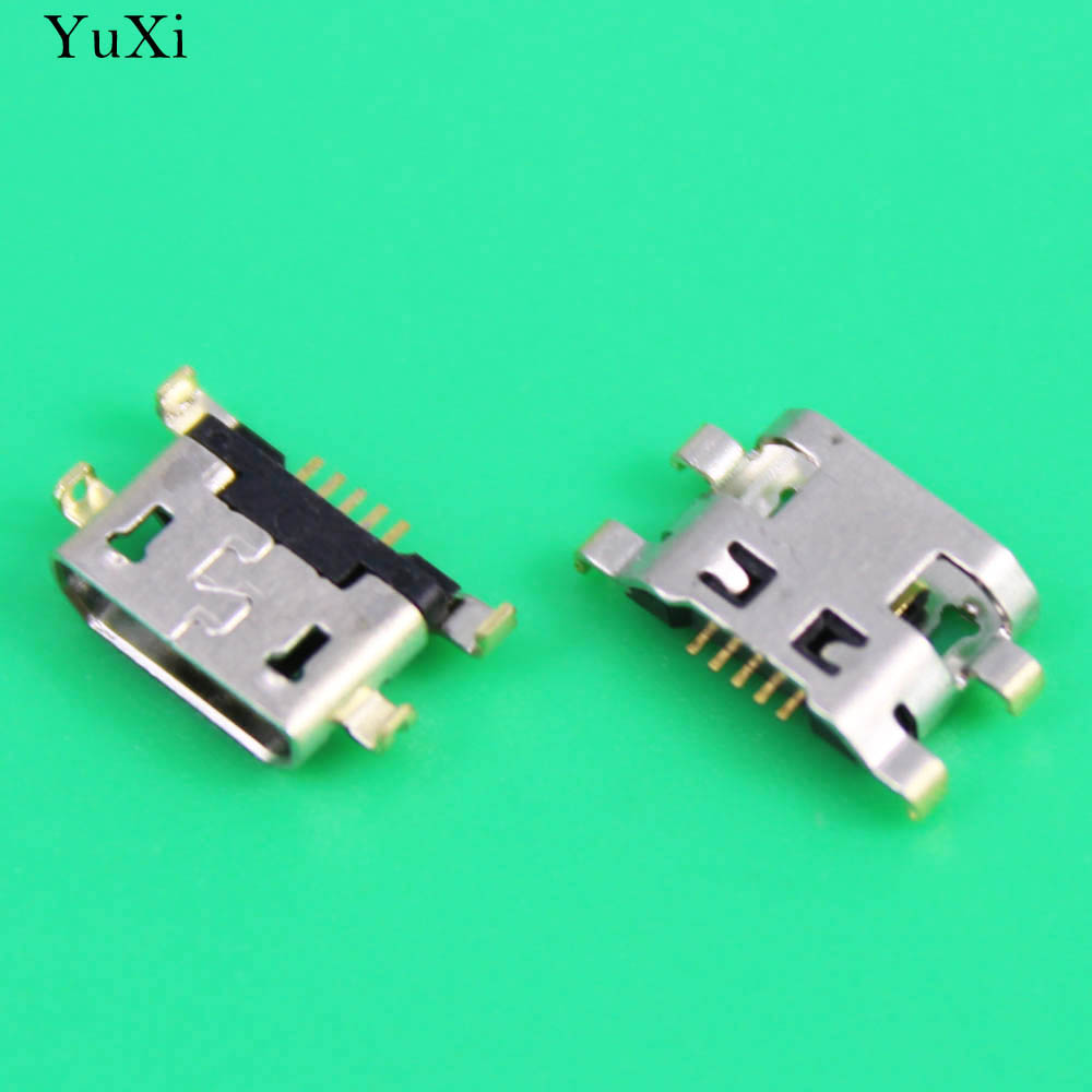 Micro 2.0 5pin For <font><b>Alcatel</b></font> <font><b>6035R</b></font> Idol S 4033 POP C3 C7 7041D for HuaWei G7 G7-TL00 micro usb charge charging jack connector image