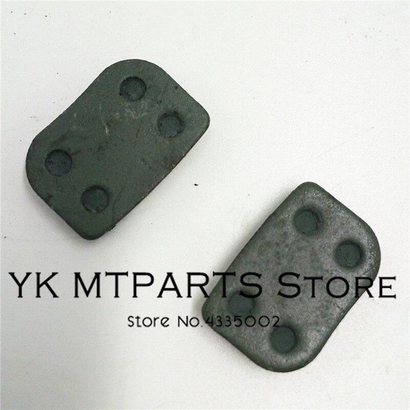 Motorcycle Disc Brake Pads Disc Brake Shoe Pad Set For 47 49cc gas