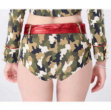 Sexy Camouflage Army Military Uniform Cosplay Halloween Costume Adult Women Costumes Carnival Party Fancy Soldier Dress Outfits