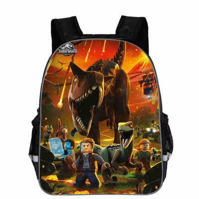 11-16inch Popular Animal Printing Dinosaur Backpack For Kids Jurassic World Fallen Kingdom Bags For Girls Boys Children School