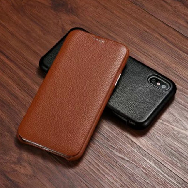 online retailer 9a5ef 65514 Original Brand for iphone X Leather Case Genuine Split Leather Case for  iphone X for Apple X 10 Flip Real Leather Full Cover-in Flip Cases from ...