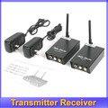 Frete grátis! 2.4 GHz Wireless Audio Video AV Transmitter Receiver 2.4 apropriado para TV computador e outros displayer