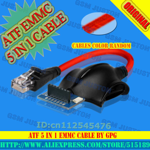 ATF EMMC 5 IN 1 CABLE by GPG