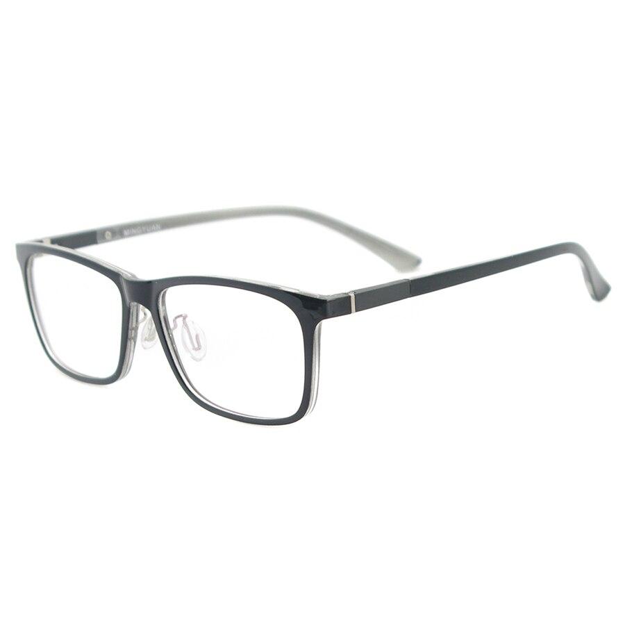 Image 3 - Men Rectangular Flexible Plastic Lightweight TR90 Computer Glasses Women Eyeglasses With Anti Blue Light-in Women's Blue Light Blocking Glasses from Apparel Accessories