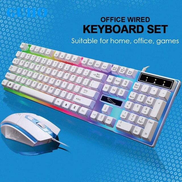 17c2fb1b4e0 G21 USB Gaming Keyboard Mouse Gamer Set Profesional Razer Led Gaming ... razer  mouse