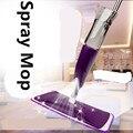 2016   Spray water Mop Aluminium Pole Microfiber 360 Degree  Rotate Mop Household Floor Cleaning Water Spray Squeezee Mop