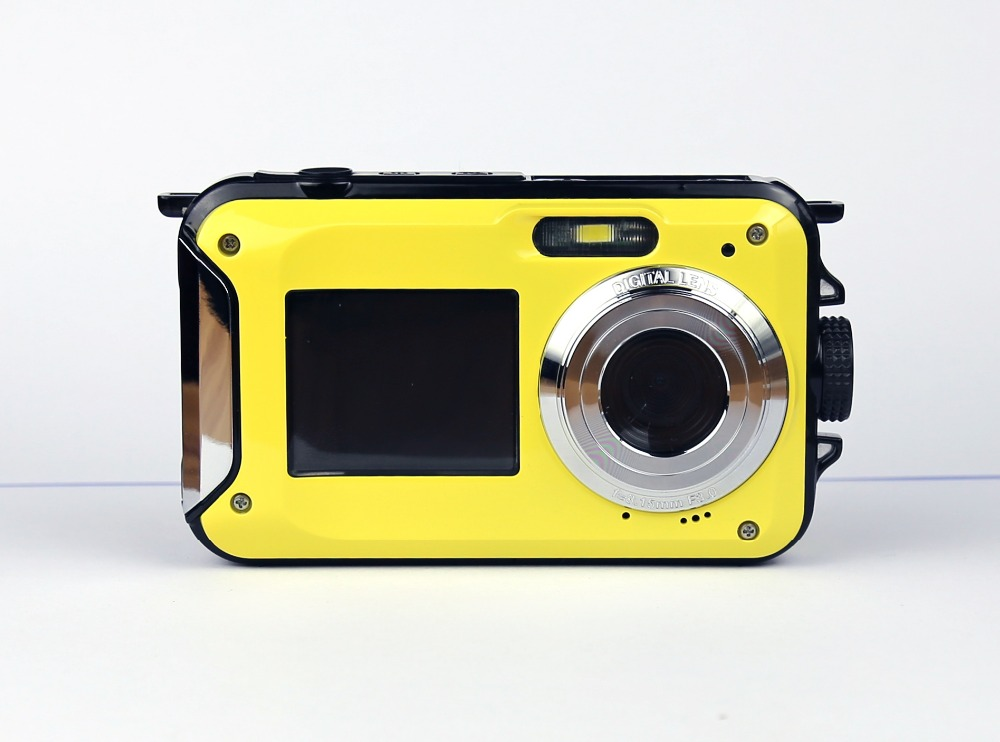 karue 2.7inch TFT Digital Camera Waterproof 24MP MAX 1080P Double Screen 16x Digital Zoom Camcorder Wholesale