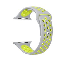 BRAND sport Silicone band strap for apple watch 42mm 38mm