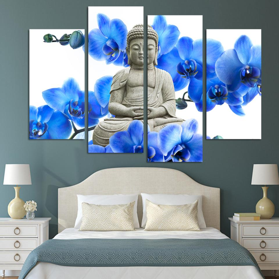 Online get cheap buddha face alibaba group for Modern home decor pieces