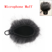Nowe sztuczne futro mikrofon Muff Windscreen wiatr rękaw tarcza pokrywa dla Zoom H1 H2N H4N Q3 dla Sony D50 rejestrator 120x130mm