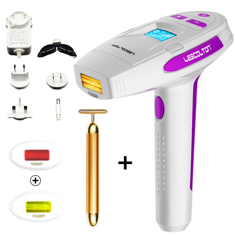 Lescolton 400000 times 2in1 Electric epilator IPL Laser Hair Removal Machine Permanent Laser Epilator Hair Removal