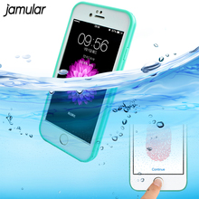 JAMULAR Shockproof Underwater Waterproof Case Cover For iphone 8 6 6S 7 Plus 5s SE Phone