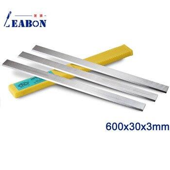 LEABON 600x30x3mm W6% HSS Planer Knife,HSS Planer Blade (A01006045)