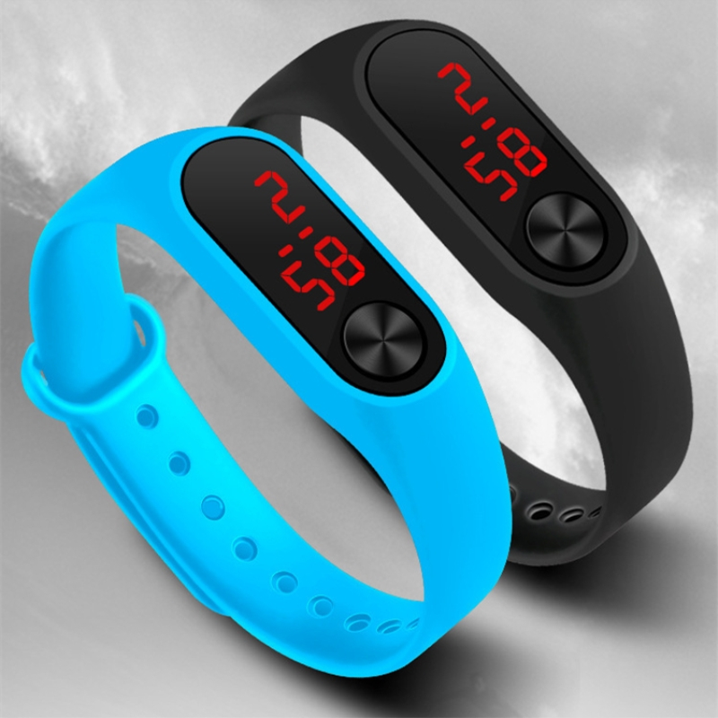 New Children Watch Led Sports Kids Watches Digital Casual Clock Silicone Bracelet Wristwatches For Boys And Girls Jewelry Gift