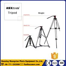 ASXMOV TP777 Aluminum Alloy Professional Flexible dslr Camera Tripod Stand Three solid angles Camera Tripod