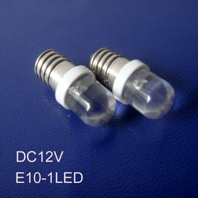 ᐃalta qualidade e10 conduziu a luz de sinal, 12 v e10 lâmpadas led